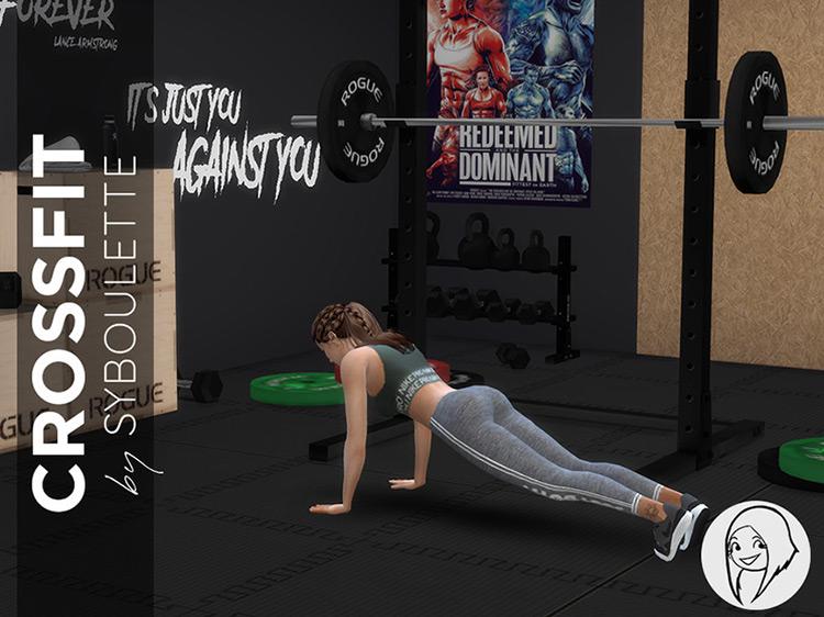 Crossfit Home Gym Set TS4 CC