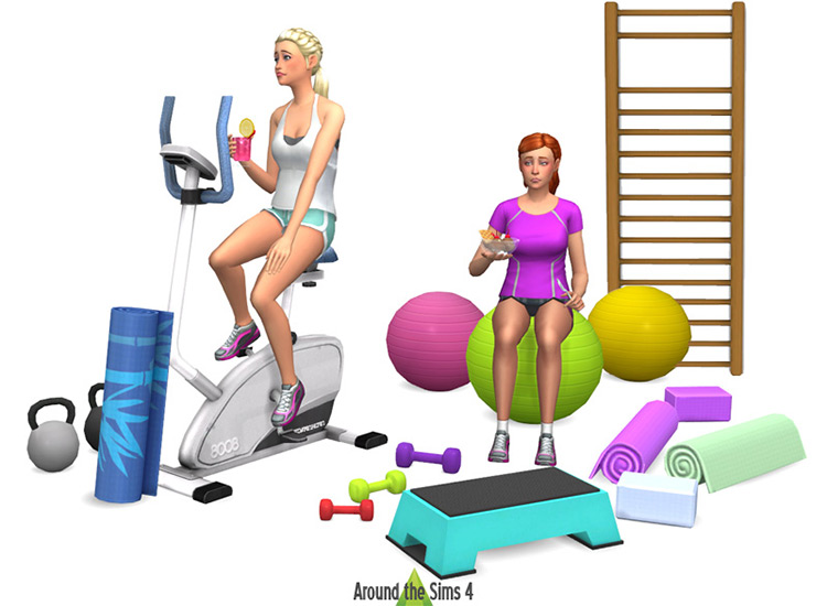 Sport & Gym Set for Sims 4
