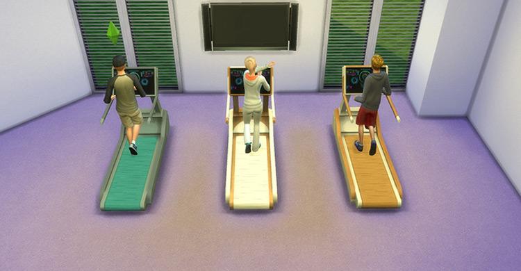 Pegasus Treadmill Sims 4 CC