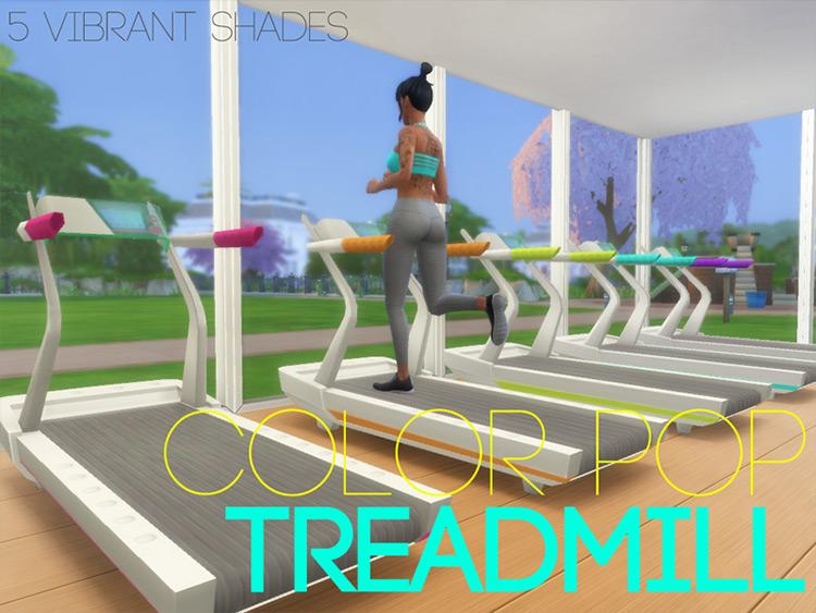 Color Pop Treadmill TS4 CC