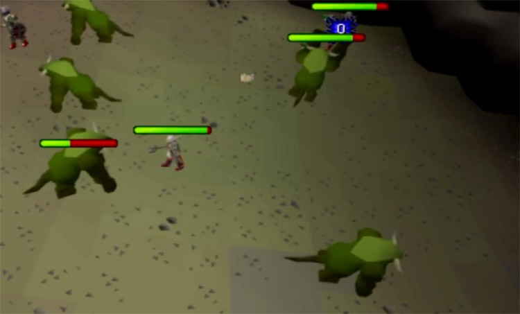 Kurask Slayer Task Screenshot in OSRS