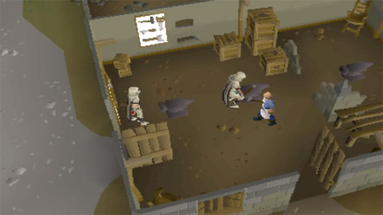 Smithing bars in OSRS