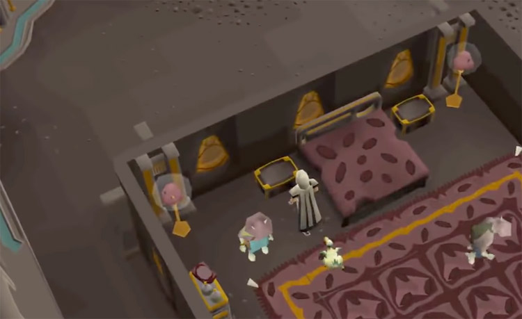 Thieving from house in OSRS