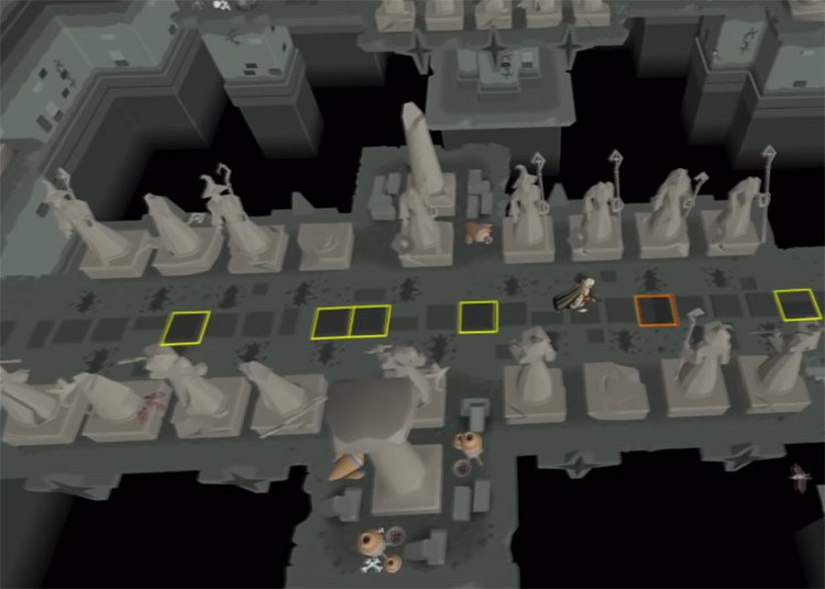 Hallowed Sepulchre agility training in OSRS