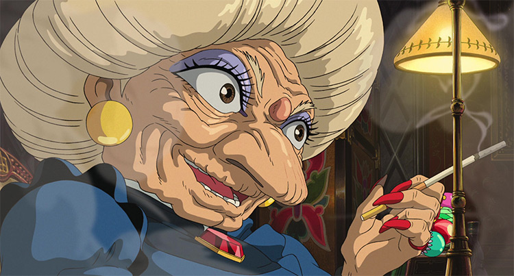 Zeniba in Spirited Away anime