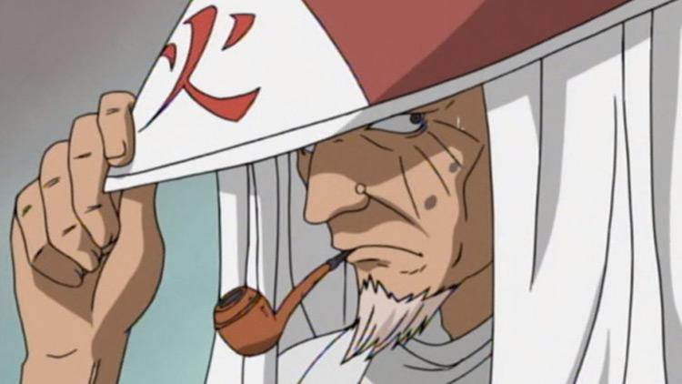 Hiruzen Sarutobi from Naruto