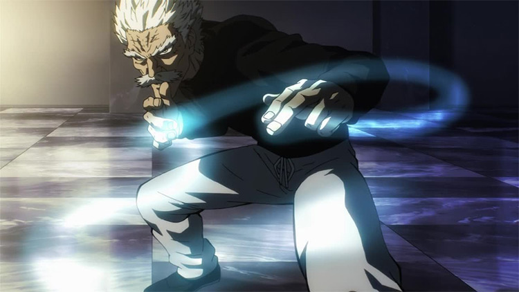 Bang from One Punch Man anime