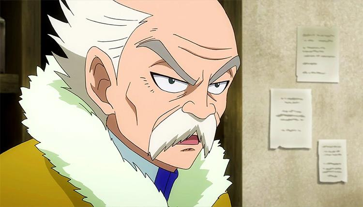 Makarov Dreyar in Fairy Tail anime