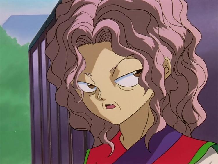 Genkai from Yu Yu Hakusho anime