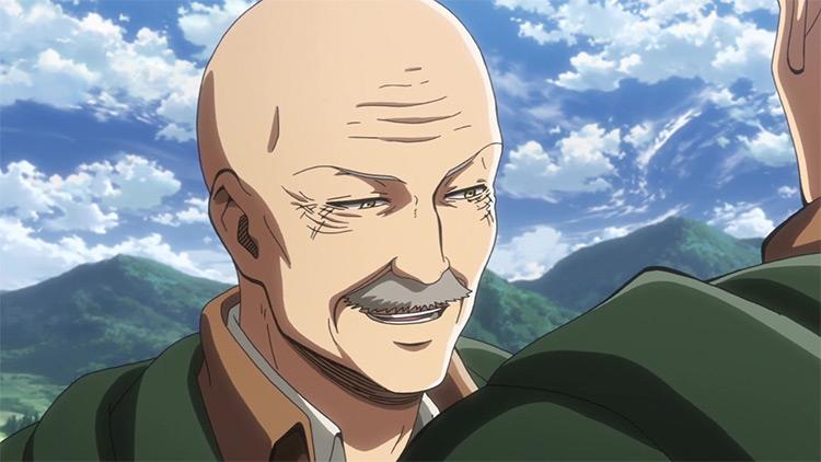 Dot Pixis Attack on Titan anime screenshot