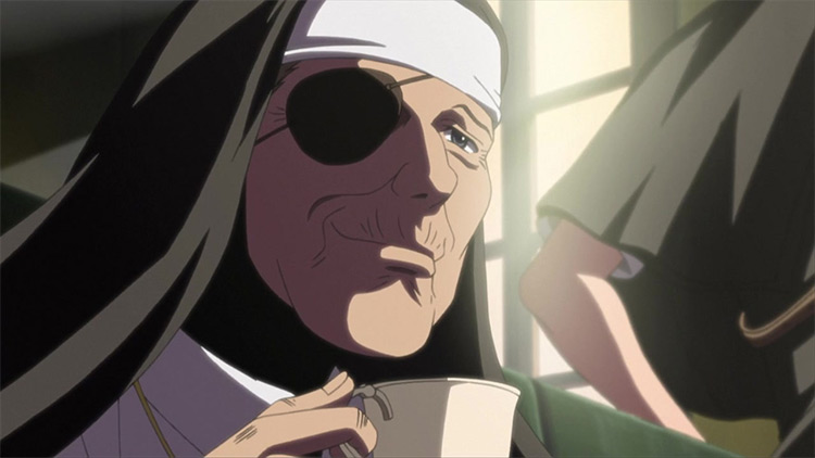 Sister Yolanda in Black Lagoon anime