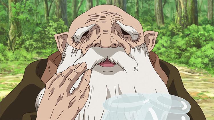 Kaseki in Dr. Stone anime