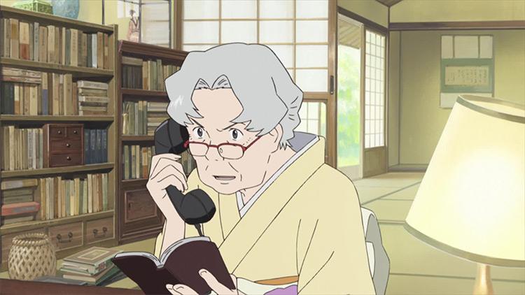 Sakae Jinnouchi Summer Wars anime screenshot