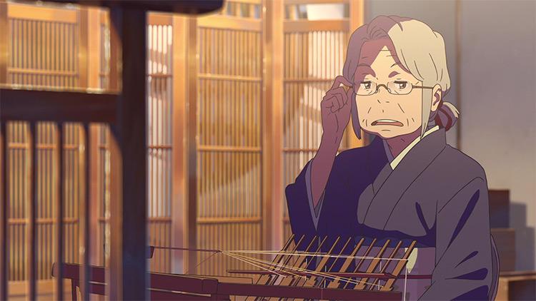 Hitoha Miyamizu in Your Name.