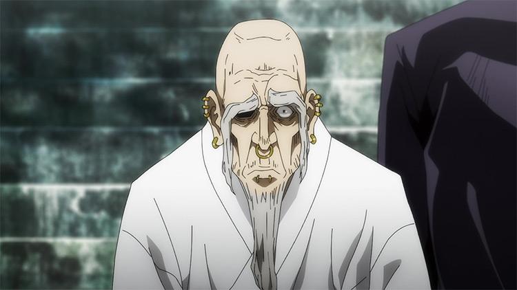Yoshinobu Gakuganji in Jujutsu Kaisen anime