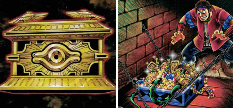 Gold Sarcophagus and Reckless Greed YGO