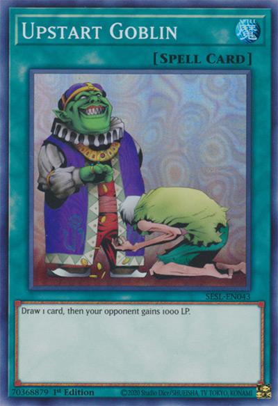 Upstart Goblin Yu-Gi-Oh Card