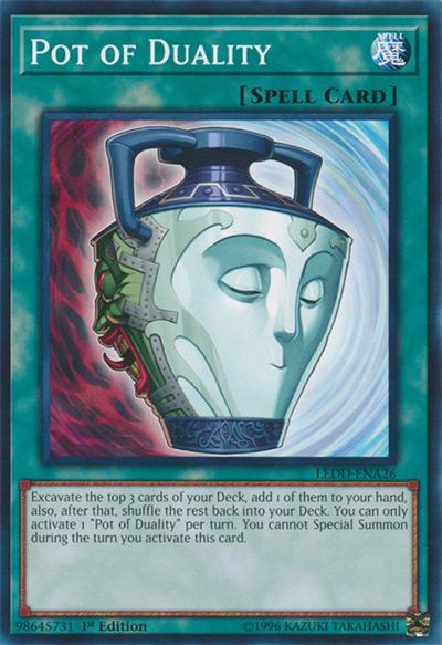 Pot of Duality Yu-Gi-Oh Card