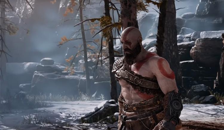 Kratos from God of war game