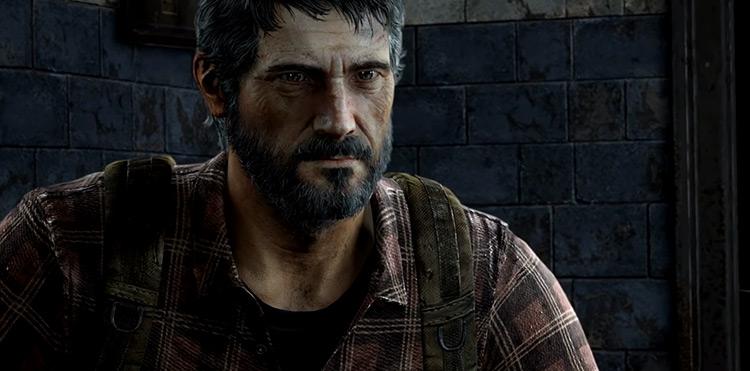 Joel chara in The Last of Us