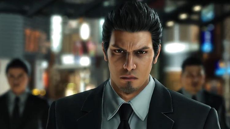 Kazuma Kiryu in Yakuza PlayStation game