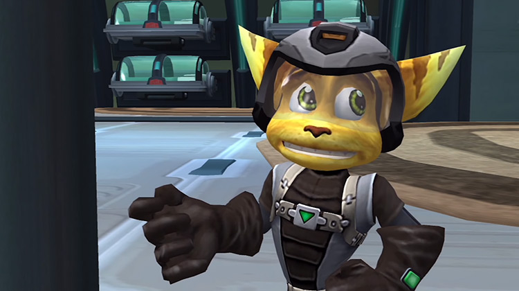 Ratchet from Ratchet & Clank game screenshot