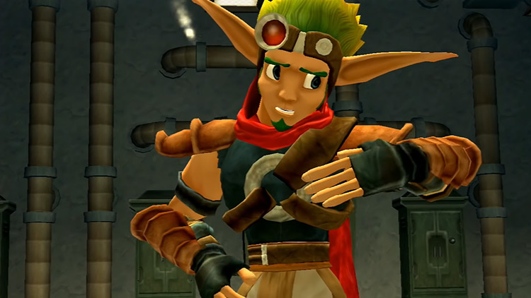 Jak from Jak and Daxter game