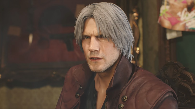 Dante in Devil May Cry game