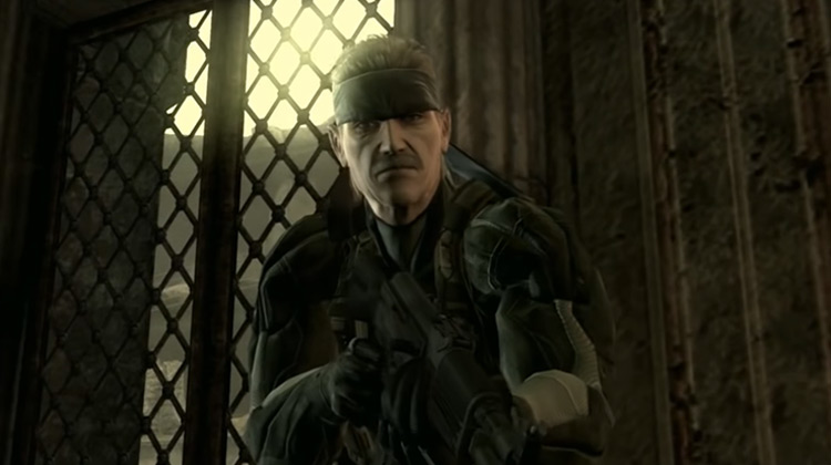 Solid Snake in Metal Gear Solid PlayStation game