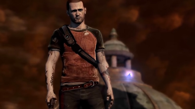 Cole MacGrath from inFamous game