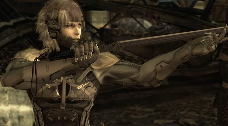 Raiden in Metal Gear Solid game