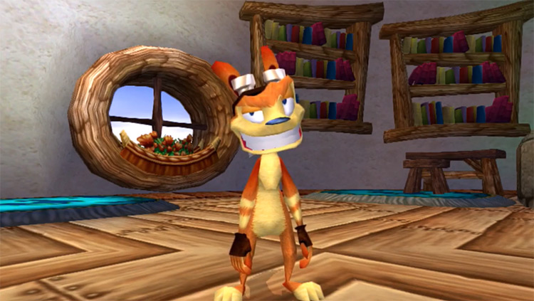 Daxter from Jak and Daxter game screenshot