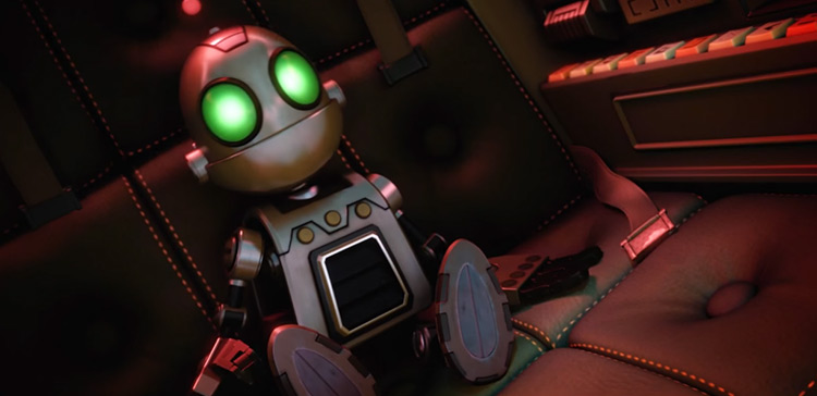 Clank in Ratchet & Clank PlayStation game