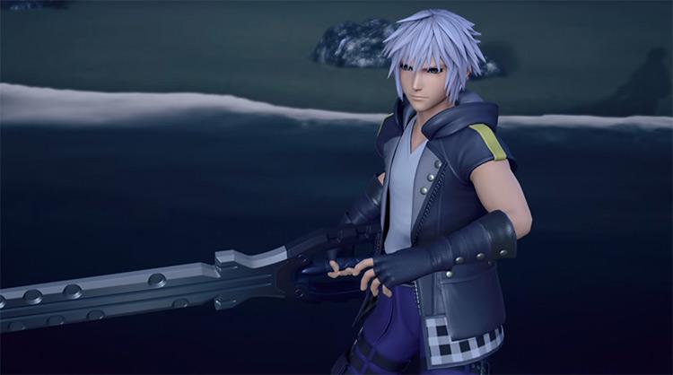 Riku from Kingdom Hearts game