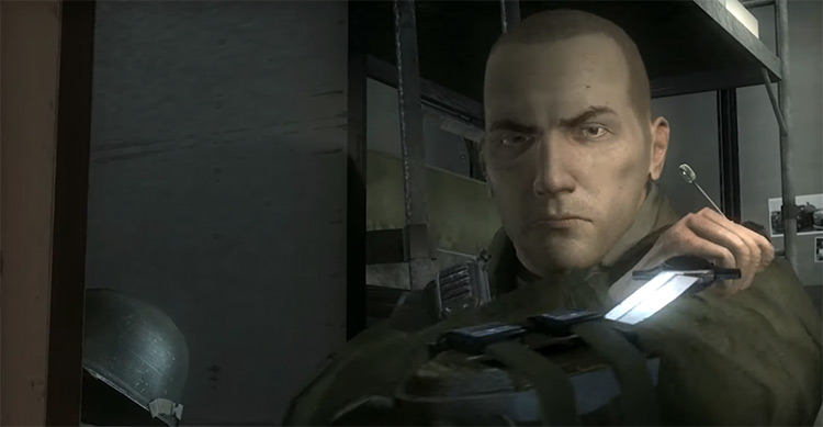 Nathan Hale Character in Resistance game