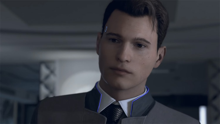 Connor in Detroit: Become Human game