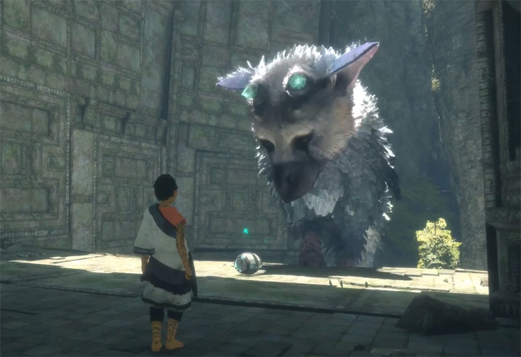 Trico from The Last Guardian game