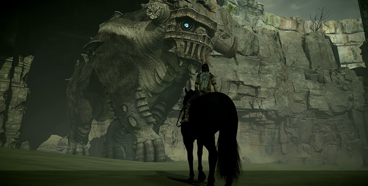 The Colossi - Shadow of the Colossus game screenshot