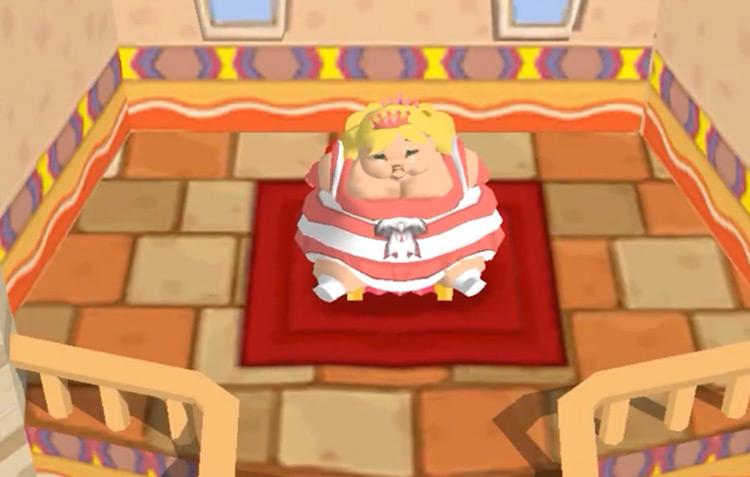 Princess Plump in Fat Princess game