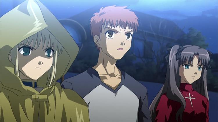 Fate/Zero anime by Ufotable