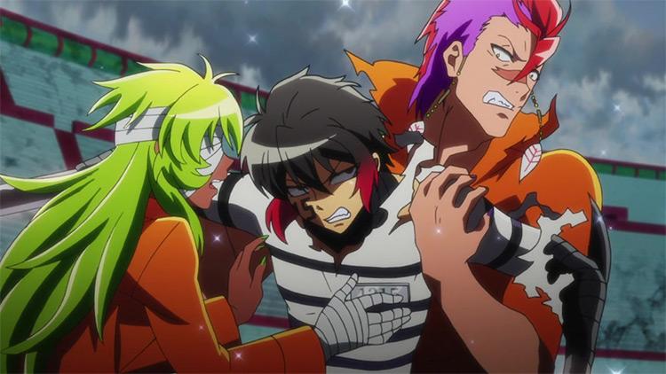 Nanbaka anime screenshot