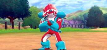 Shiny Obstagood in Pokémon Sword/Shield