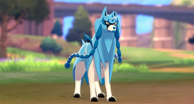 Shiny Zachian Gen 8 Pokémon
