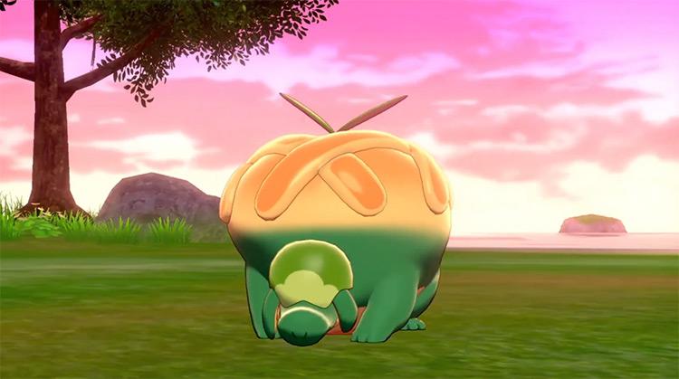 Shiny Appletun/Flapple in Pokémon SWSH