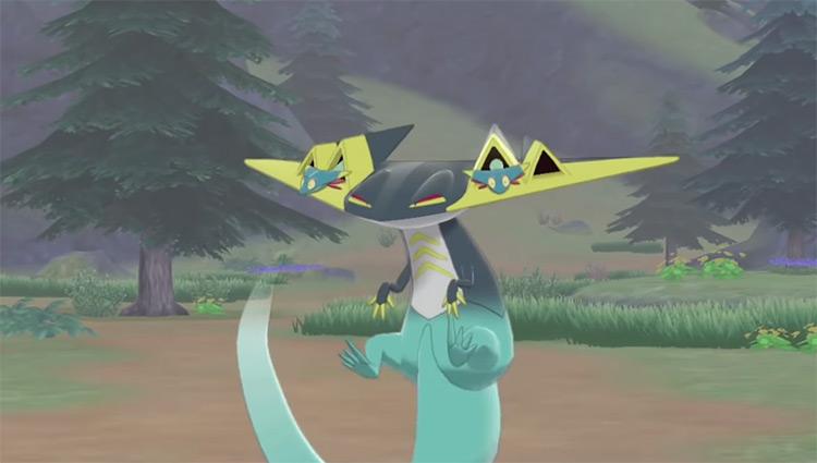 Shiny Dragapult Gen 8 Pokémon
