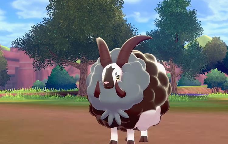 Shiny Dubwool in Pokémon SWSH