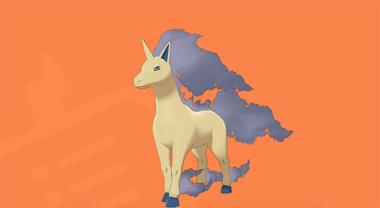 Shiny Rapidash Gen 8 Pokémon