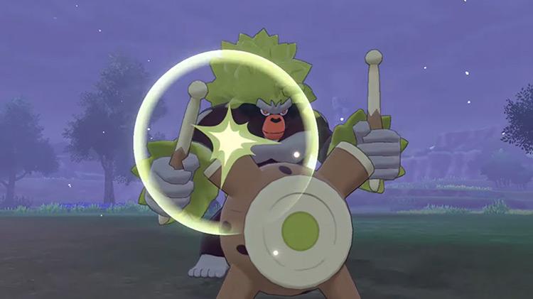 Shiny Rillaboom Gen 8 Pokémon