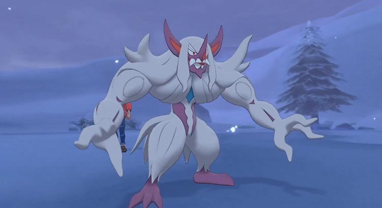 Shiny Grimmsnarl in Pokémon Sword & Shield