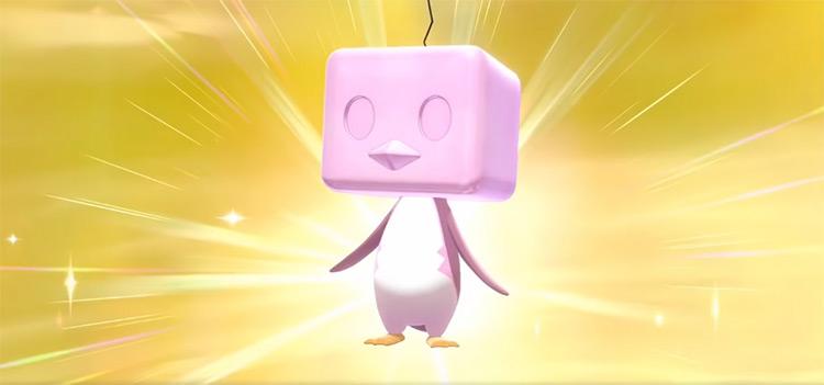 Shiny Eiscue Gen 8 Pokémon